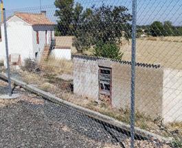 Valla de Simple Torsión en Granja Porcina de Tarazona (Zaragoza)