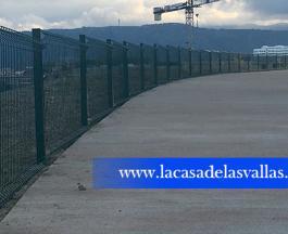 Valla de Malla Plegada en Leiola (Vizcaya)