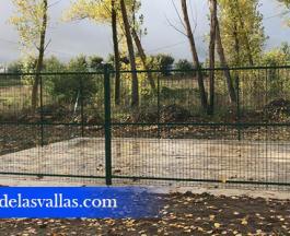 Vallado Áreas de Residuos de Demolición en Soria