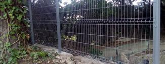 Valla de Malla Electrosoldada en empresa Argyor de Zaragoza