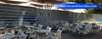 Alquiler de Valla Provisional de Obra en Parque de Atracciones de Zaragoza