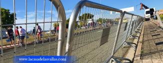 Alquiler de Vallas para Club Ciclista Ondalan