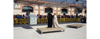 Alquiler valla de plástico para la exposición de Juego de Tronos (Madrid)