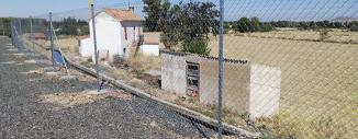 Valla de Simple Torsión en Granja Porciana de Tarazona (Zaragoza)