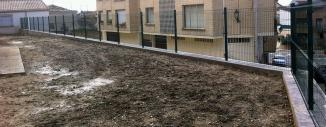 Valla de Malla Plagada para el Ayuntamiento de Allo (Navarra)