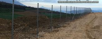 Valla de Simple torsion en Granja Porcina de Villatuerta (Navarra)