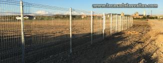 Vallado de Malla Plegada tipo Fax en Concentración Parcelaria Falces (Navarra)