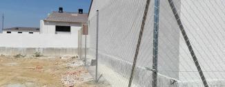 Vallado de Granja Porcina con Malla de Simple Torsión en Rada (Zaragoza)