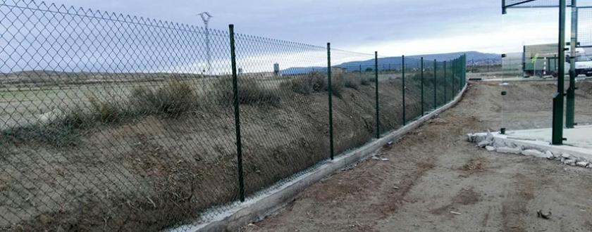 Vallado Perimetral Nuevo complejo deportivo en Magallón (Zaragoza)