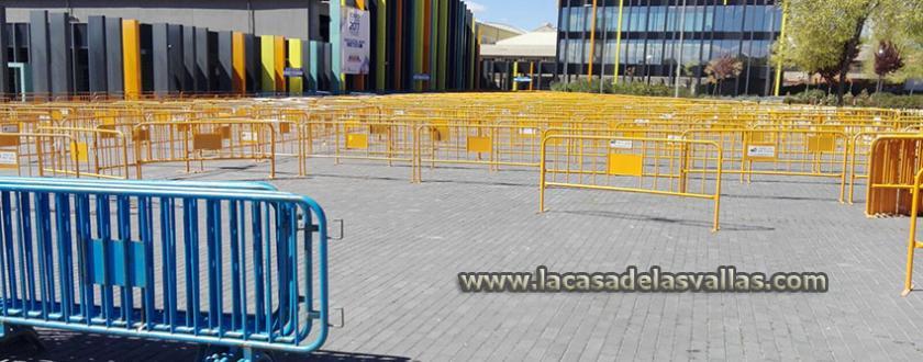 Alquiler de Vallas Metálicas en Madrid para las Elecciones Presidenciales de Ecuador