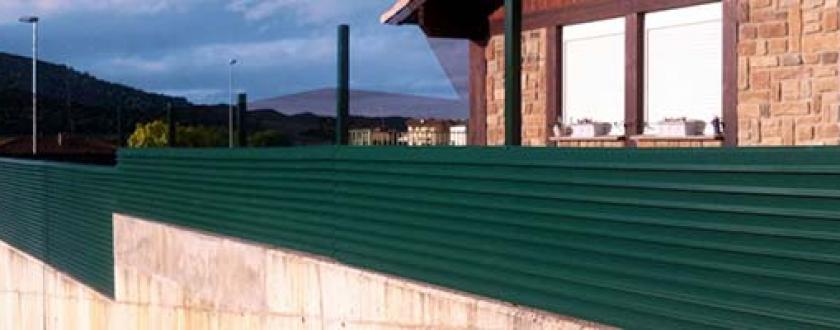 Valla de Lamas Plegadas en Navarra (Estella)