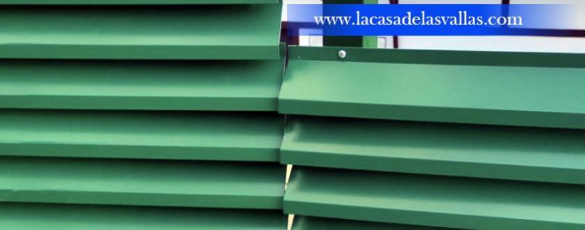 Verja Decorativa de Lamas en Bakio (Euskadi)