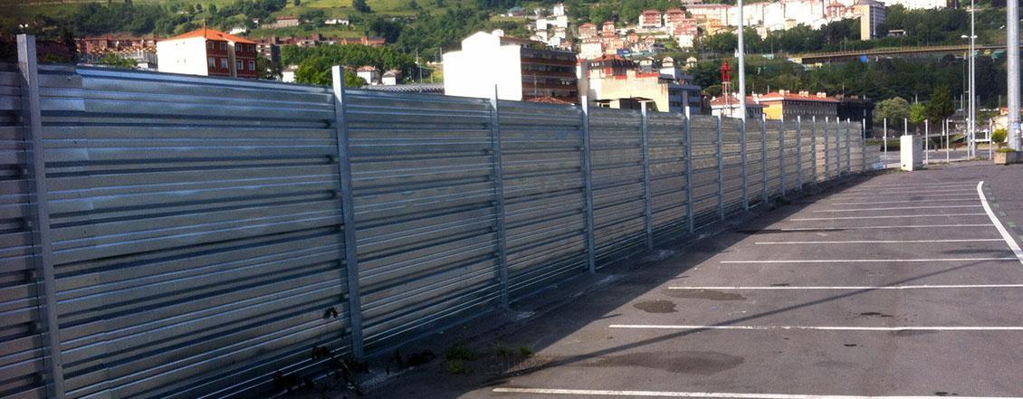 Valla de chapa opaca o ciega lacasadelasvallas - Vallas de obra precio ...