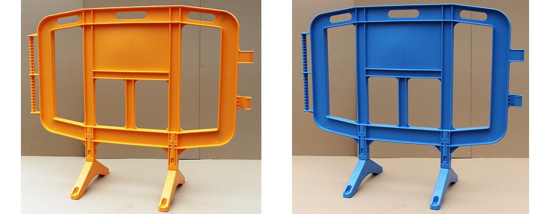 Valla Peatonal de Plástico