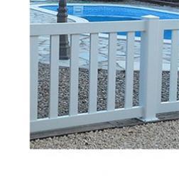 Valla de PVC para Piscinas y Jardines
