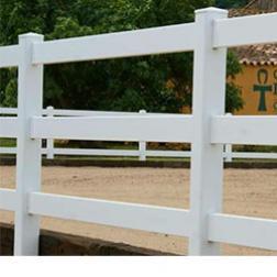 Valla Tejana de PVC para Caballos